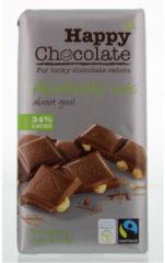 Happy Happy Chocolate Melk 34% Hazelnoot (180g)