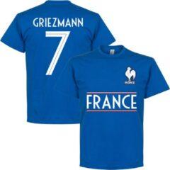 Retake Frankrijk Griezmann 7 Team T-Shirt - Blauw - L