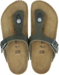 Birkenstock Gizeh Slippers - Maat 34 - Unisex - groen