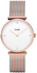 Goudkleurige CLUSE Triomphe horloge van roestvrijstaal CW0101208001