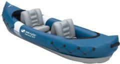 Blauwe Sevylor Europe Sevylor Tahaa Kayak Kit - Opblaasbaar - 2-Persoons - Inclusief Peddels