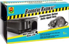 Compo voederdoos ratten Barrière Radikal 1 stuk