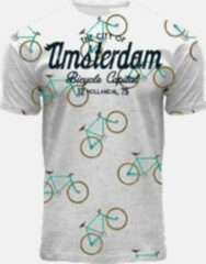 Grijze Fiets T-shirt Fox Originals
