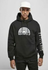 Southpole Hoodie/trui -S- 3D Embroidery Zwart