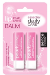 Sence Lippenbalsem Pearl shine TwinPack roze 2x4,8gr