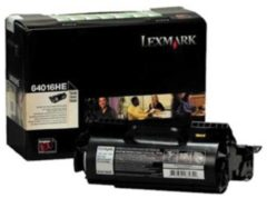 Lexmark Tonercartridge Zwart Return Program - 21000 Pagina's - 64016he