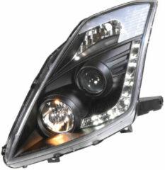 Set koplampen DRL-Look passend voor Nissan 350Z 2003-2009 met OE Xenon (D2R) - Zwart