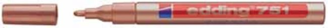 Afbeelding van Edding-751 glanslakmarker koper 1Stuks 1-2 milimeter / 4-751-9-055