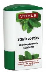Vitals Stevia zoetjes Voedingssupplement - 250 tabletten