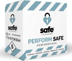 Transparante Safe condoms performance 5 st
