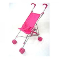 Basic Poppenbuggy Roze