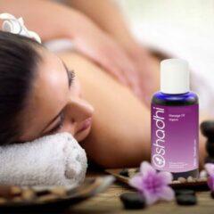 Massage olie Oshadhi 'Slimming', organic