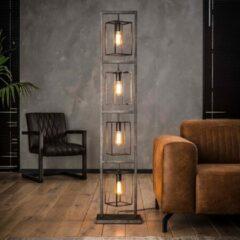 Antraciet-grijze Easy Furn Vloerlamp Nox