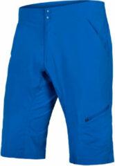 Azuurblauwe Endura Hummvee Lite Shorts with Liner - Ruime korte broeken