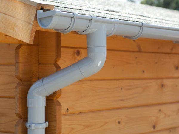 Afbeelding van S-Lon   PVC Dakgoot Zadeldak GD16   Grijs   525-700 cm