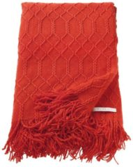 Plaid 'E-Weave' Esprit Rot