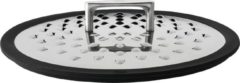 Zilveren Rosle Anti Spatdeksel - Voor pannen met een doorsnede van 24 en 28 cm