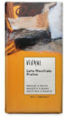Vivani Chocoladereep Latte Macchiato Praliné