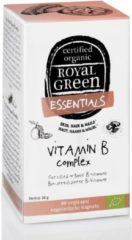 Royal Green Royal groen - Royal groen Vitamine B Complex - 60 vegicaps