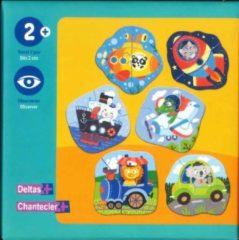 Oranje Deltas Eerste puzzels - voertuigen / Premiers puzzles - véhicules