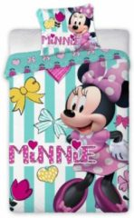 Faro Disney Minnie mouse - BABY dekbedovertrekje - 100 x 135 cm - Multi