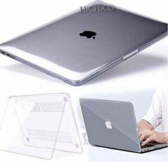 MacBook Air 13 inch (2019 / 2018) - Laptop Cover - Clear Hard Case - Transparant – HiCHiCO