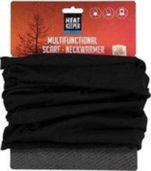 Heat Keeper Multifunctionele sjaal/nekwarmer voor heren - zwart - one size