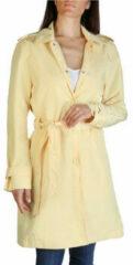 Gele Trenchcoat Tommy Hilfiger - ww0ww24594