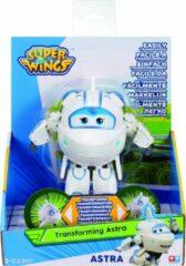 Witte Super Wings transforming speelfiguur Astra 24,5 cm