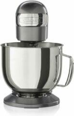 Donkergrijze Cuisinart ® Precision Stand Keukenmachine SM50E | Krachtige 500W keukenmixer met directe aandrijving | 12 snelheden | Platte klopper, garde en deeghaak | 5.2L vaatwasbestendige kom | Alternatieve opzetstukken (vlees/pasta)