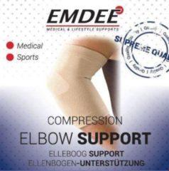 Emdee Elastische ondersteuning elleboog huidkleur maat S 1 Stuks