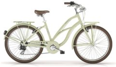 MBM Cruiser-Bike Damen, 26 Zoll, 7 Gang Shimano TX35 Kettenschaltung, »New Maui Woman«