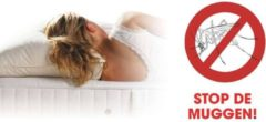 Witte Healthguard Mosquito Free kussensloop