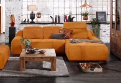 Premium collection by Home affaire Ecksofa »Spirit«, mit Recamiere, wahlweise mit Bettfunktion