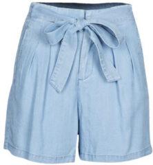 VERO MODA high waist loose fit short blauw