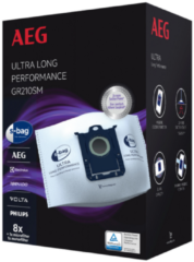 AEG GR210SM S-BAG 5L ULTRA CLASSIC LONG PERFORMANCE 8 STUKS stofzuigerzakken
