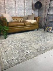Grijze EVA Interior Vintage Vloerkleed Beige - Meadow - 80 x 150 cm
