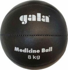 Gala Medicine Ball - Medicijn bal - 8 kg - Zwart Leer