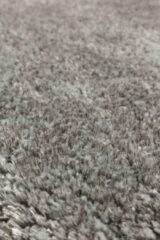 OSTA Lana – Vloerkleed – Tapijt – geweven – wol – eco – duurzaam - modern - berber - Grijs Wit - 60x120