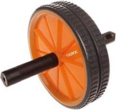 Zwarte Toorx Fitness Toorx Dual Ab Wheel - Dubbele Trainingswiel
