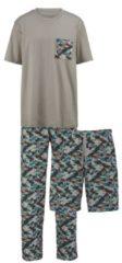 3teiliger Schlafanzug Gregory khaki/grün/oliv