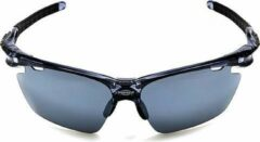 Zwarte PowerPlay Eyewear PowerPlay MS-049 Clear-Black-Black Smoke