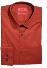 Oranje Hugo Overhemd elisha