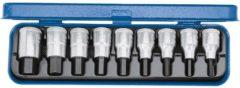 Gedore 6156250 Inbus Dopsleutel-bitinzetset 9-delig 1/2 (12.5 mm) Afmeting, lengte: 60 mm