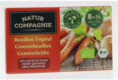 Natur Compagnie Groentebouillon zonder gist 8 Stuks