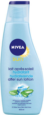 Afbeelding van NIVEA SUN AFTER SUN HYDRATE HYDRATERENDE KALMERENDE LOTION 400ML