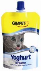 Gimcat Yoghurt Voor Katten - Kattensnack - Melk 150 g - Kattenvoer
