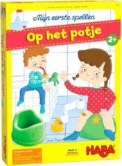 Haba leerspel Op Het Potje junior karton/siliconen 7-delig (NL)