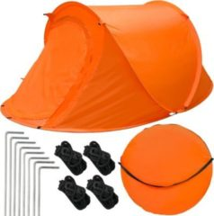 Eyepower Popup-Zelt Wurfzelt ultraleichtes Campingzelt 245x145x100cm Sekundenzelt Inkl. Tasche Automatik-Zelt