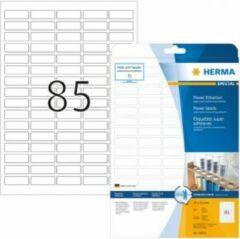 Etiketten Herma 10917 A4 37x13 mm wit extreem vast hechtend papier mat 2125 st.